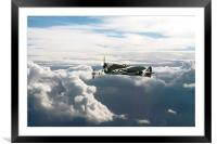Hawker Typhoons, Framed Mounted Print