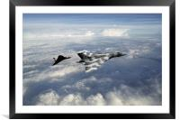 Vulcans, Framed Mounted Print