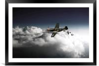 Mustang Ace, Framed Mounted Print