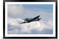 The Last Spitfire, Framed Mounted Print