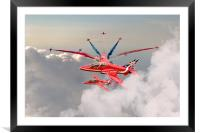 Red Arrows Celebration, Framed Mounted Print
