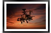 Close Air Support , Framed Mounted Print