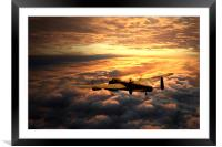 Lancaster Solitude, Framed Mounted Print