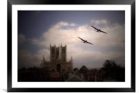 Lincoln Lancs, Framed Mounted Print
