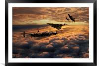 The Bomber Age , Framed Mounted Print