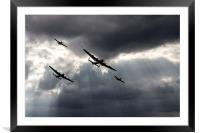 BBMF and Vera, Framed Mounted Print