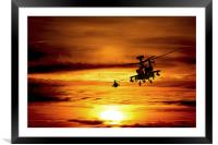 Apaches , Framed Mounted Print