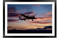 Lancaster Homecoming, Framed Mounted Print
