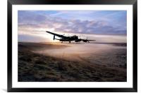 A Frosty Lancasters Morning, Framed Mounted Print