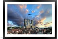 Lincolnshire Icons , Framed Mounted Print