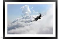 Spitfire Speed , Framed Mounted Print