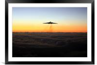 Vulcan Honour , Framed Mounted Print
