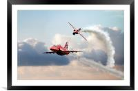 2015 Red Arrows Pair, Framed Mounted Print