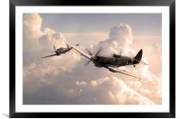Spitfire Angels , Framed Mounted Print
