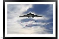 Reds with XH558, Framed Mounted Print