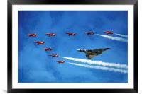 Vulcan with the Reds, Framed Mounted Print