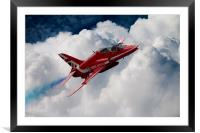 Red Pass, Framed Mounted Print