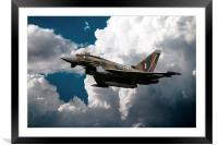 Camouflage Typhoon, Framed Mounted Print