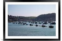 Clear Skies at Dartmouth, Framed Mounted Print