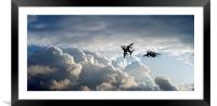 Harriers, Framed Mounted Print