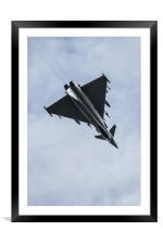 Typhoon Over The Top, Framed Mounted Print