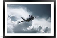 F35 Fast Pass, Framed Mounted Print