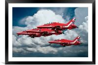 Reds Take Off, Framed Mounted Print