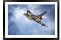 Typhoon Climb, Framed Mounted Print