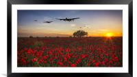 One For All, Framed Mounted Print