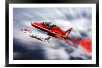 Farewell to XH558, Framed Mounted Print