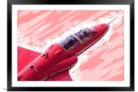 Red Arrow - Comic Strip, Framed Mounted Print