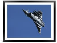 Typhoon, Framed Mounted Print