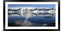 Thin Ice, Framed Mounted Print