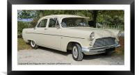 Ford Consul MK 2, Framed Mounted Print