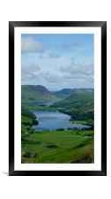 Buttermere from Haystacks, Framed Mounted Print
