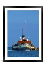 The Waverley, Framed Mounted Print