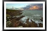 Tarbat Ness Lighthouse, Framed Mounted Print