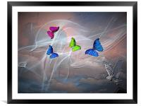 Warm Winds., Framed Mounted Print