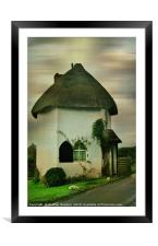 The Little Toll House, Framed Mounted Print