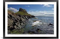 Lindisfarne Castle, Framed Mounted Print