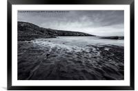 Cullernose Point, Framed Mounted Print