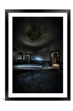 The oval star room!, Framed Mounted Print