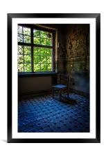Kitchen Chair, Framed Mounted Print