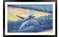 Typhoon over Wales, Framed Mounted Print