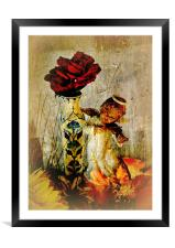 Angelic Roses, Framed Mounted Print