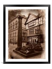 Roman Remains, Chester., Framed Mounted Print