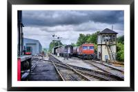 Embsay Station, Framed Mounted Print