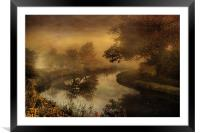 Out of the mist, Framed Mounted Print