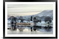 Pendle View, Framed Mounted Print