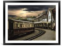 Ffestiniog Railway, Framed Mounted Print
